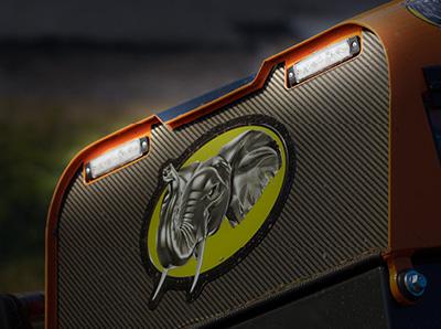 robomax - trinciatrice forestale - fari led - energreen macchine professionali