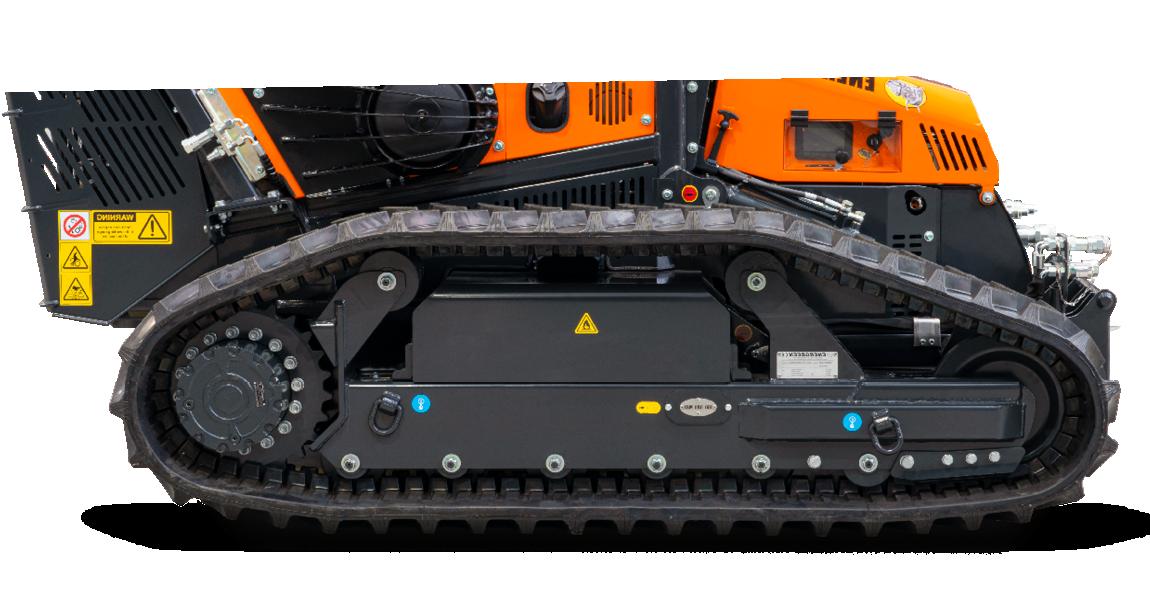 robomax - trinciatrice forestale - cingoli - energreen macchine professionali