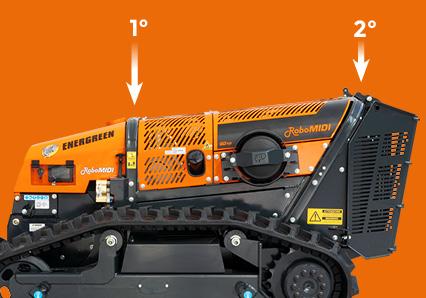 robomidi - qualità componenti - doppio roll bar - energreen macchine professionali