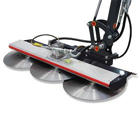 roboevo - attrezzatura - trimmy - barra lame - energreeen macchine professionali