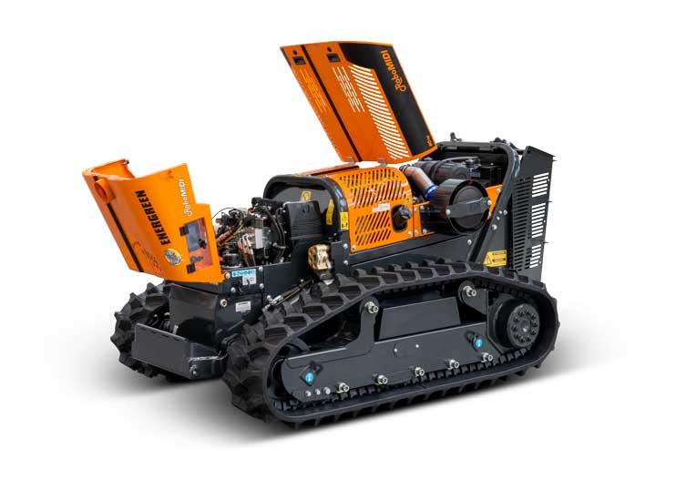 robomidi - qualità componenti - energreen macchine professionali