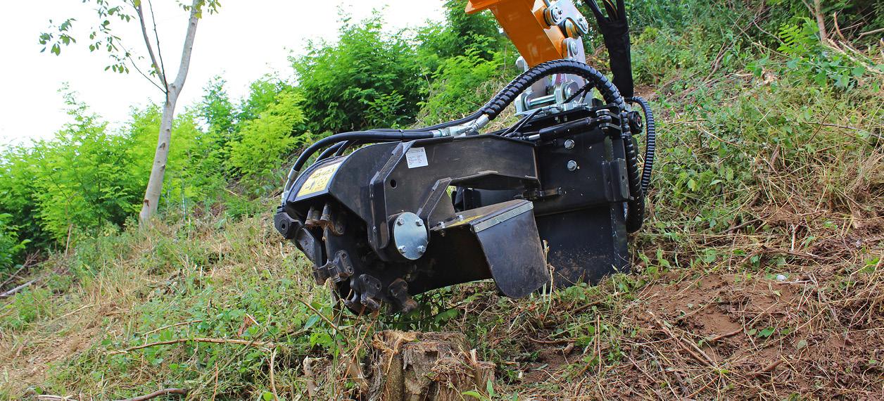 attrezzature professionali - stump grinder - fresaceppi - lavori forestali - energreen macchine professionali