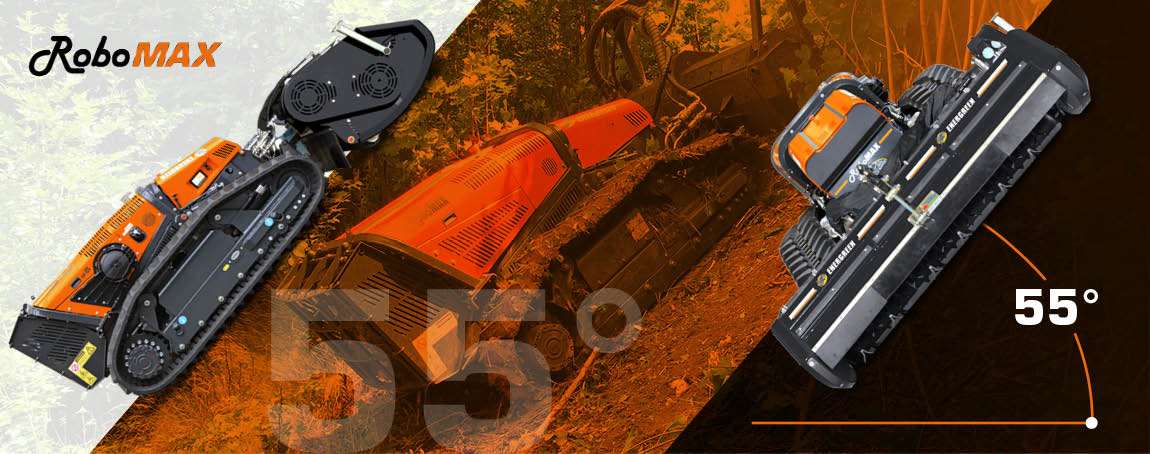 robomax - trinciatrice forestale - potenza - pendenza massima - energreen macchine professionali