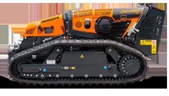 robomax - trinciatrice forestale - energreen macchine professionali