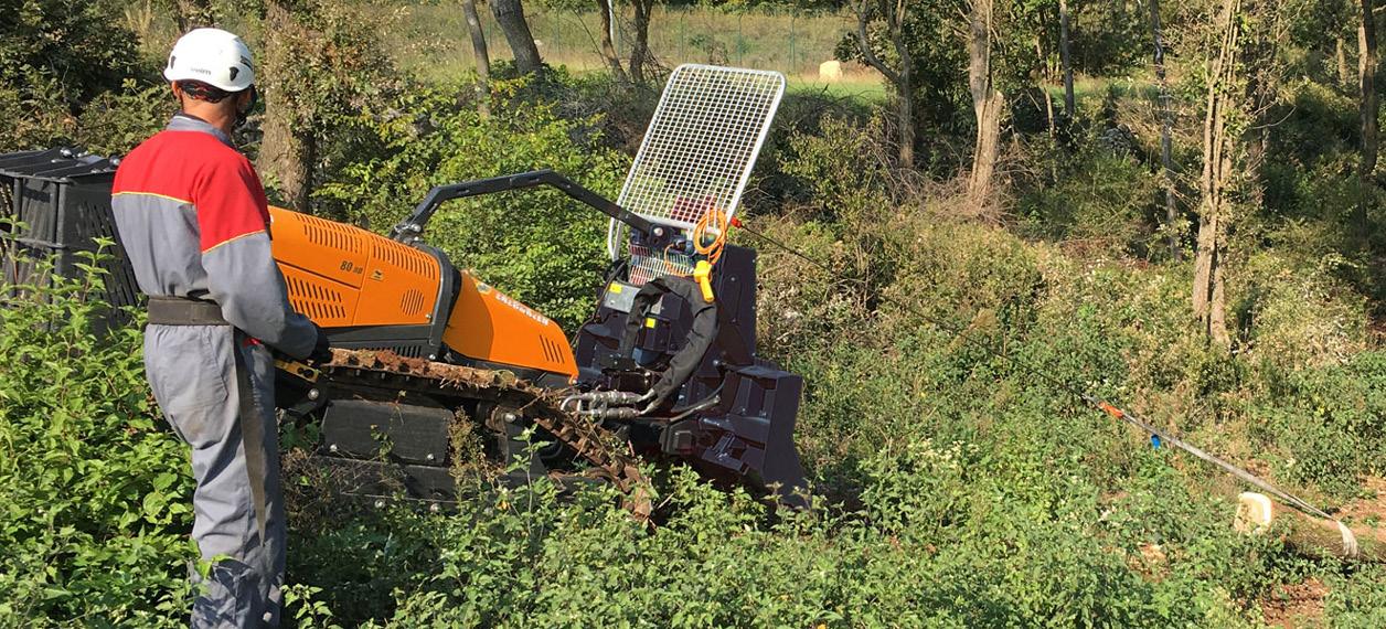 robo - robomax - verricello forestale - forestry winch - lavori forestali - energreen macchine professionali