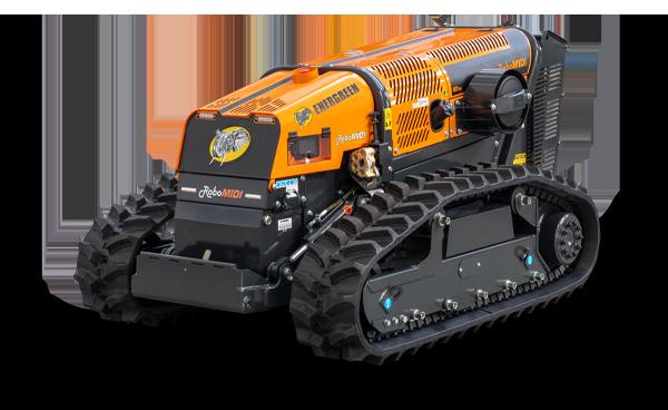 robomidi - porta attrezzi radiocomadato - robo multifunzione - energreen macchine professionali
