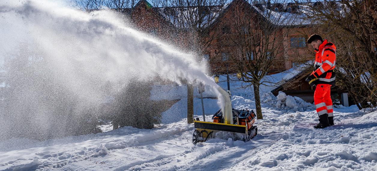 robo - robomini - snow blower - turbofresa - viabilità invernale - energreen macchine professionali